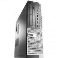 Stasjonær PC: Dell OptiPlex 990 Ultraslim, Core i5-2500 3,3GHz Quad / 8GB / 250GB / Radeon HD6350, Pent brukt