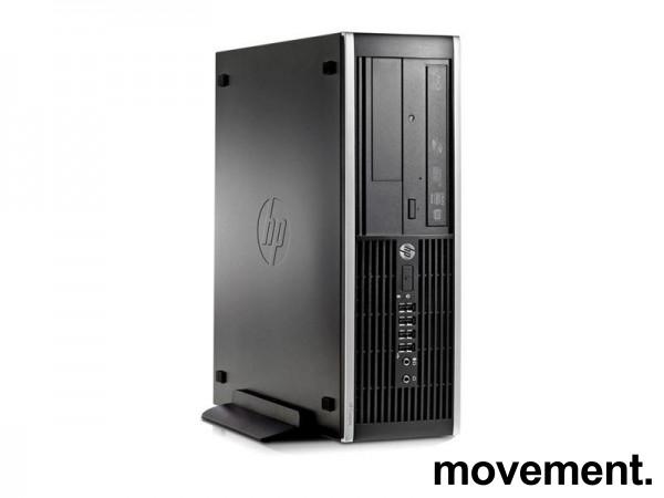 HP Compaq Elite 8300 SFF, Core-i7 3770, 3.4GHz, 8GB RAM, USB3.0, 500GB HD, nVidia NVS 300, pent brukt. bilde 1