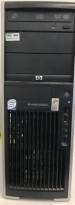 Stasjonær PC: HP xw4400, Intel Core Duo 2.4GHz, NVIDIA Quadro NVS 285, 2GB RAM, 250GB HDD; Pent brukt