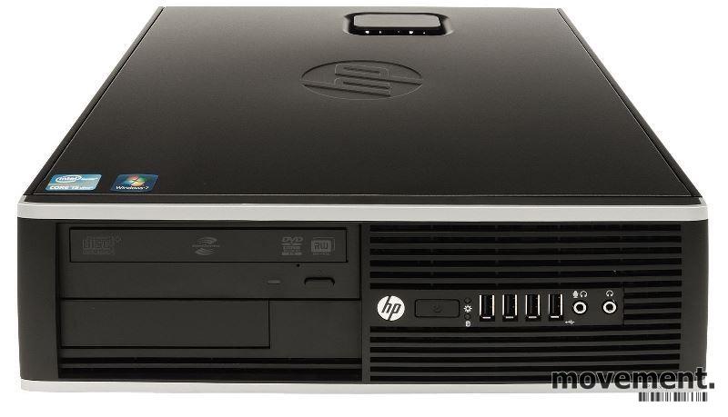 Stasjonær PC: HP Compaq 8200 Elite SFF,8GB 500GB HD, i5