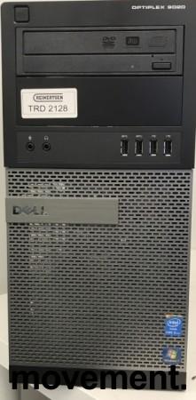 Dell Optiplex 9020, Core i5-4570 3.2GHz QuadCore, 8GB RAM, 500GB HDD, Pent brukt bilde 1