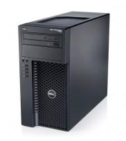 Stasjonær PC: Dell Precision T1650, Xeon E3-1240 v2 QuadCore 3.4GHz, nVidia Quadro 2000, 8GB RAM, u/HD, Pent brukt