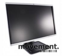 HP 24toms widescreen skjerm til PC, LA2405wg, 1920x1200, VGA/DVI/DP, med Tilt/USB, pent brukt