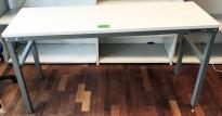 Solid arbeidsbord / arbeidsbenk fra Treston med justerbar høyde, 150x50cm, pent brukt
