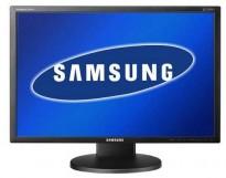 Flatskjerm til PC: Samsung Syncmaster 2443NW, 24toms, 1920x1200, VGA, pent brukt