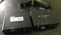 Atlona AT-HDVS-RX og AT-HDVS-TX, 1 av hver selges samlet, HDMI extension via CAT5e, pent brukt