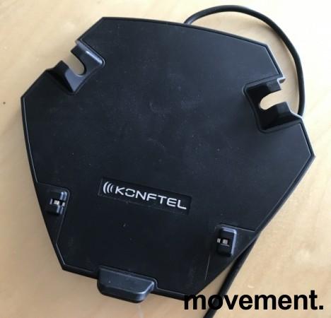 Konferansetelefon, Konftel 300M (Mobil for simkort) med batteri og charging dock/cradle, pent brukt bilde 4