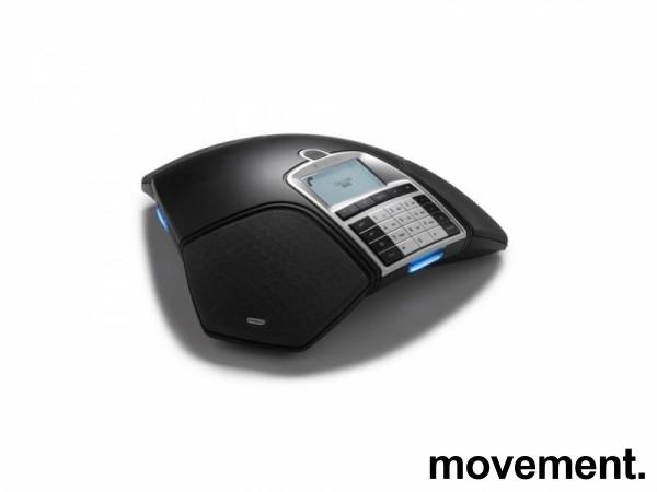 Konferansetelefon, Konftel 300M (Mobil for simkort) med batteri og charging dock/cradle, pent brukt bilde 5