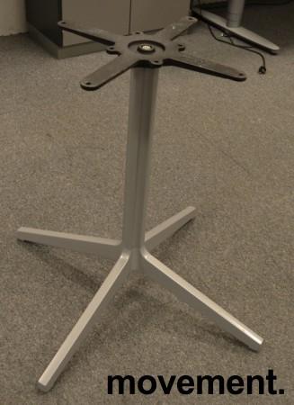 Understell / bordben i grålakkert stål fra Pedrali, høyde 73cm, pent brukt bilde 1