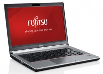 Bærbar PC: Fujitsu Lifebook E734 / 13,3toms 1366x768, Core i5-4210M 2,6GHz/ 4GB / 500GB, docking, pent brukt