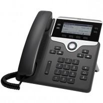 Cisco CP-7841-K9 V04 IP-telefon, SIP, 4linjer, pent brukt