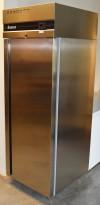 Inomak CAS170 kjøleskap for storkjøkken i rustfritt stål, 72cm bredde, 209cm høyde, pent brukt