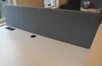 Bordskillevegg fra Götessons, ScreenIt, blågrønn, 180x66cm, pent brukt