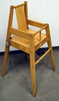 Babystol / Barnestol, modell BLÅMES i trefarge fra Ikea, brukt