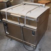 Kokebord med lokk, 9,84kW 400V 3fas, med vanntilkopling, 91cm bredde, pent brukt