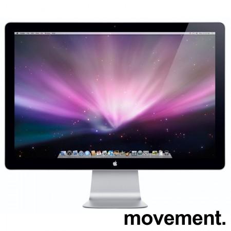 Flatskjerm: Apple Cinema Display A1316 27toms 2560x1440, pent brukt
