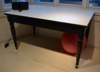 Kjøkkenøy / buffet / avlastningsbord med plate i Corian, brunmalt understell, bredde 160m, høyde 88cm, pent brukt