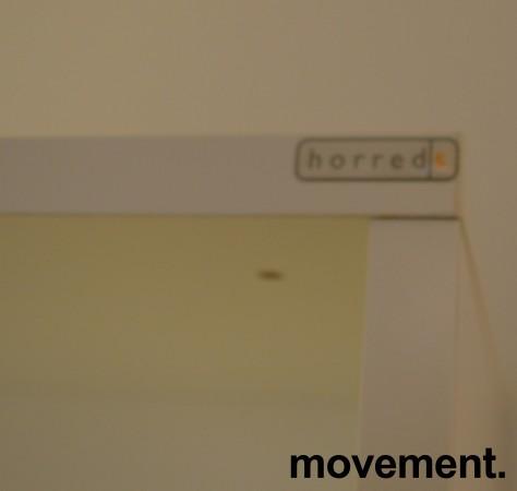 Horreds ringpermreol i hvitt, åpen, 80B 43D 185H, pent brukt bilde 2