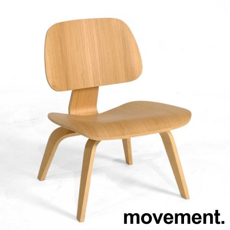 Vitra Plywood Lounge Chair LCW i formspent finer, ask, design: Charles & Ray Eames, pent brukt bilde 1