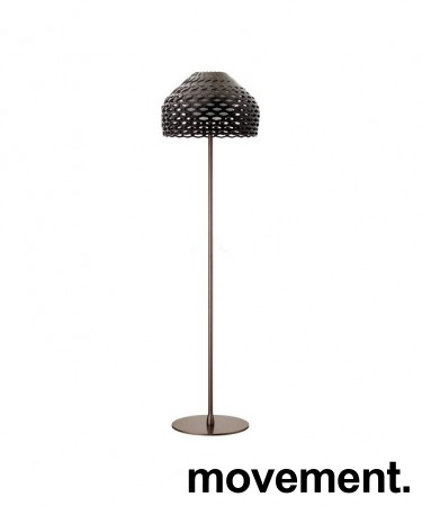 Lekker stålampe fra Flos, Tatou F Aubergine, høyde 180cm, pent brukt bilde 1