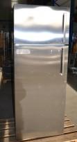 Kjøleskap i stål, 69cm bredde, 180cm høyde, kombiskap, Framtid FC232/28, Electrolux / Ikea, pent brukt
