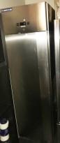 Metos Kjøleskap 60cm bredde i rustfritt stål, for storkjøkken, 205,5cm høyde, pent brukt