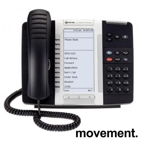 Mitel 5330 IP Phone IP-telefon bordapparat, pent brukt bilde 1