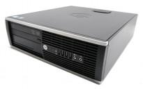 Kompakt stasjonær PC: HP Compaq 6200 SFF, Intel G620 2,6GHz / 2GB / Uten HD, pent brukt