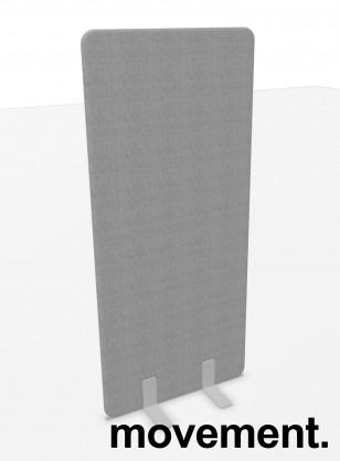 Skillevegg i grått stoff, 80cm bredde, 180cm høyde, NY/UBRUKT bilde 1