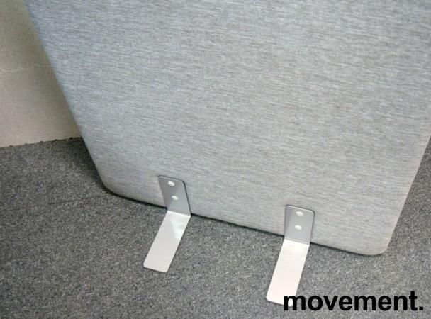Skillevegg i grått stoff, 80cm bredde, 180cm høyde, NY/UBRUKT bilde 2