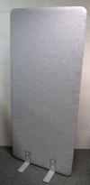 Skillevegg i grått stoff, 80cm bredde, 180cm høyde, NY/UBRUKT