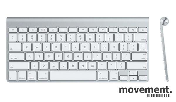 Apple Wireless Keyboard bluetooth,A1314, trådløst tastatur