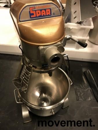 Eltemaskin SPAR 200-0, 230V 3fas, 20 liter, med div utstyr og stativ, se bilder, pent brukt bilde 6