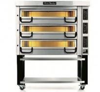 Pizzaovn, stor 3kammers, BakePartner/PizzaMaster PM 833 ED, 400V 3fas 40,5kW, pent brukt