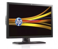 Flatskjerm til PC: HP ZR2440w, 24,1toms, 1920x1200, LED IPS, VGA/DVI/HDMI/DP/USB, pent brukt
