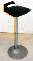 Wilkahn Stitz - ergonomisk 1punktsstol i grå farge, pent brukt