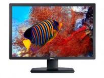 Dell Ultrasharp U2412Mc 24toms LED IPS 1920x1200, DVI/DP/VGA/USB/Tilt, pent brukt