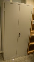 Brannisolert stålskap, 100cm bredde, 45cm dybde, 199cm høyde, pent brukt