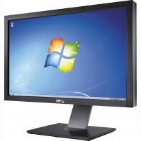 Flatskjerm til PC: Dell U2711b, 27toms, 2560x1440, VGA/HDMI/DVI/DP/Component m.m, pent brukt