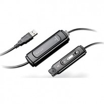 USB Adapter til Plantronics Headset / Hodetelefon, modell DA45/A 77559-42, NY I ESKE