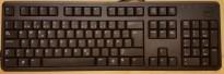 Dell tastatur til PC med USB-tilkopling, sort farge