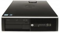 Stasjonær PC: HP Compaq 8200 Elite SFF, i3-2100 3,1GHz,  4GB RAM, 500GB HD, WIN10, pent brukt