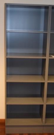 Ringepermreol i grått, 5H, 60,7cm bredde, 194cm høyde, pent brukt bilde 1