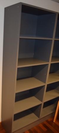 Ringepermreol i grått, 5H, 60,7cm bredde, 194cm høyde, pent brukt bilde 2
