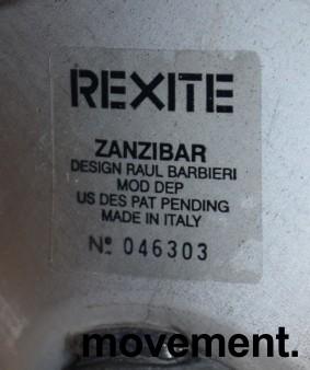 Barstol fra Rexite i sølvgrå farge, justerbar sittehøyde 52-78cm, pent brukt bilde 5