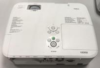 NEC Prosjektor M300W, 3000Lumen, HDMI, Widescreen 1280x800, 2000timer på pæren, pent brukt