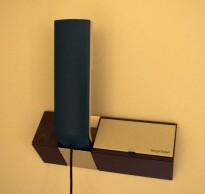 Bang og Olufsen, Beocom telefonapparat med veggbase, turkis håndsett, god stand