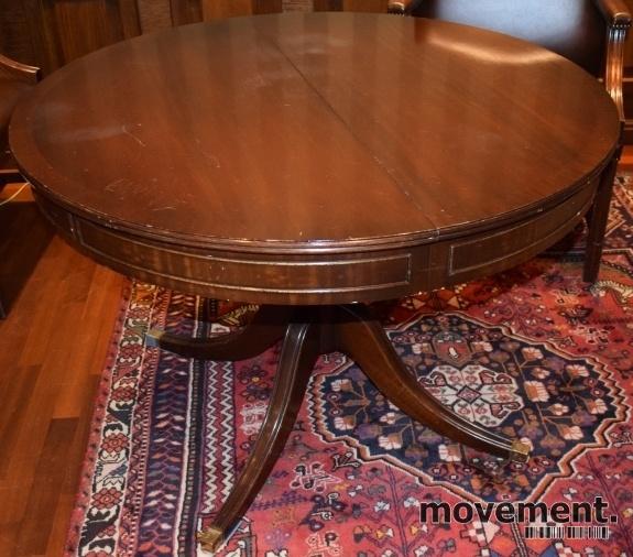 Super Møtebord / spisebord i klassisk stil,rundt Ø=110cm, med VR-77