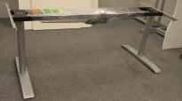Understell for skrivebord med elektrisk hevsenk fra Svenheim, passer plate 200cm, pent brukt