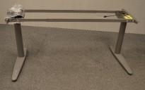 Understell for skrivebord med elektrisk hevsenk fra EFG, passer plate 120cm eller større, pent brukt